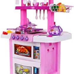2532443722 w640 h640 2532443722 250x250 - Велика двостороння ігрова рожева кухня Happy Little Chef