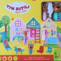 2535865461 w640 h640 2535865461 250x250 - Ігровий набір «Три кота» Міні Вілла (3 персонажа, будиночок і багато аксесуарів)