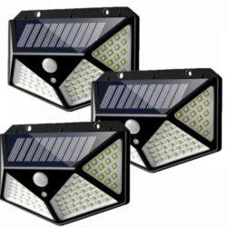 2561895568 w640 h640 2561895568 250x250 - Світильник з датчиком руху на вулицю на сонячній батареї solar interaction wall lamp 100 LED
