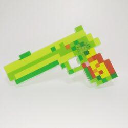 """2562743180 w640 h640 2562743180 250x250 - Пістолет """"Minecraft"""" зі звуковими і світловими ефектами Зелений"""