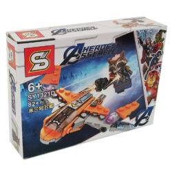 2621974583 w640 h640 2621974583 250x250 - Конструктор Ракета серії Heroes Assemble 82 деталий