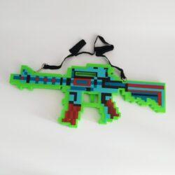 """2629041032 w640 h640 2629041032 250x250 - Автомат """"Minecraft"""" зі звуковими і світловими ефектами Зелений"""