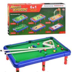 2645595414 w640 h640 2645595414 250x250 - Настільна гра 6 в 1: більярд, хокей, футбол, гольф, боулінг, баскетбол