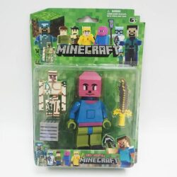 2683107465 w700 h500 igrovoj nabor figurok 250x250 - Ігровий набір фігурок Скелети, меч і блок Minecraft