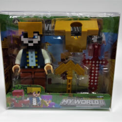 2690117792 w640 h640 igrovaya figurka geroya 250x250 - Ігрова фігурка героя з аксесуарами Minecraft: My World