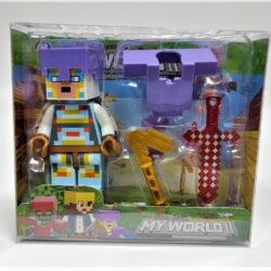 2690195332 w640 h640 igrovaya figurka geroya 250x250 - Ігрова фігурка Minecraft: My World