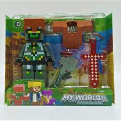 2690379933 w640 h640 igrovaya figurka geroya 250x250 - Ігрова фігурка Minecraft: My World