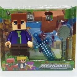 2690477847 w640 h640 igrovaya figurka geroya 250x250 - Ігрова фігурка Minecraft: My World