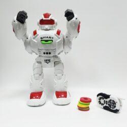 """2704743715 w640 h640 2704743715 250x250 - Робот """"Робовоін"""" стріляє дисками на ІК пульті управління 9892"""