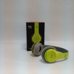 2708894206 w640 h640 2708894206 250x250 - Бездротові Bluetooth навушники Wireless P-47 гарнітура Bluetooth + MicroSD + FM Радіо Light Green