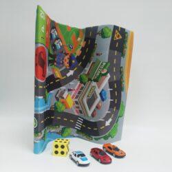 2715462841 w640 h640 detskij igrovoj kovrik 250x250 - Дитячий ігровий килимок з машинками і кубиком (RC333-2)
