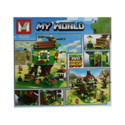 "2875087955 w640 h640 2875087955 250x250 - Конструктор ""Minecraft: My World. Будинок на дереві"" MG202 392 деталі"