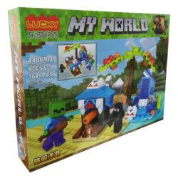 "2877115609 w640 h640 2877115609 250x250 - Конструктор ""Minecraft: My World"" Lucky 44069Q 164 деталі"