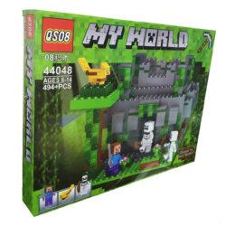 "2879544977 w640 h640 2879544977 250x250 - Конструктор ""Minecraft: My World. Стів, Скелети, гори"" QSO8 44048 494 деталі"