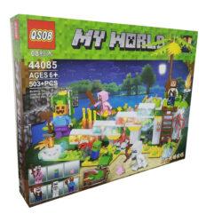 "2879593887 w640 h640 2879593887 250x250 - Конструктор ""Minecraft: My World. Чарівний сад"" QSO8 44085 503 деталі"