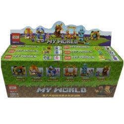 "2880136256 w640 h640 2880136256 250x250 - Набір з 6-и героїв на 480 деталей ""Lego Minecraft: My World"" QS08 44067"