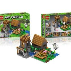 "2882365183 w640 h640 2882365183 250x250 - Великий дитячий конструктор на 933+ деталей ""Minecraft: My World"" 44050"