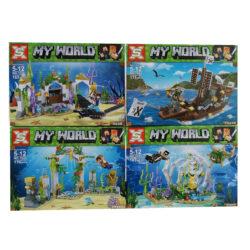 """2886862527 w640 h640 2886862527 250x250 - Великий дитячий конструктор на 673 деталі """"Minecraft: My World"""" тисячі двадцять шість"""
