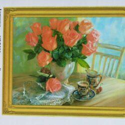 """2895835458 w640 h640 2895835458 250x250 - Картина з страз """"натюрморт з квітами"""""""