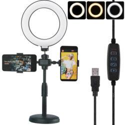 2904340217 w640 h640 2904340217 250x250 - LED лампа Phone Live Fill Light 16 см