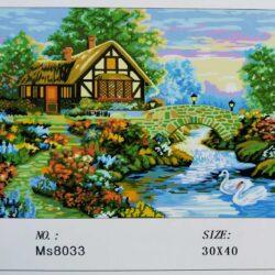2923794531 w640 h640 2923794531 250x250 - Картина за номерами «будиночок біля річки» 30х40см