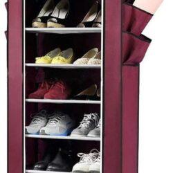 1 24 250x250 - Тканинна шафа-органайзер для взуття 105х45х175см 1099