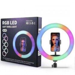 94244027069366 250x250 - Кільцева LED лампа RGB 33см+штатив