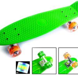 zippy board led svetyatsya kolesa323 73263463457629 250x250 - Пенні Борди Zippy Green Світяться колеса