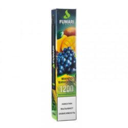elektronnye sigarety fumari fumari mango vinograd 1200 2 400x400 1 250x250 - Fumari 1200 Mango grapes (Манго виноград)