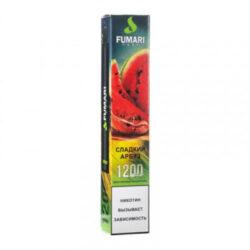 elektronnye sigarety fumari fumari sladkiy arbuz 1200 2 400x400 1 250x250 - Fumari 1200 Sweet Watermelon (Сладкий Арбуз)